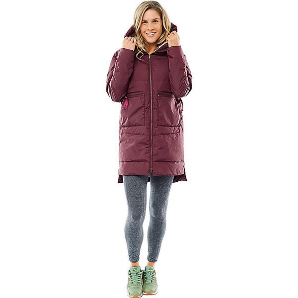 カーブデザイン レディース ジャケット&ブルゾン アウター Carve Designs Women's Davos Long Down Jacket Merlot