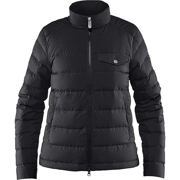 フェールラーベン レディース ジャケット&ブルゾン アウター Fjallraven Women's Greenland Down Liner Jacket Black