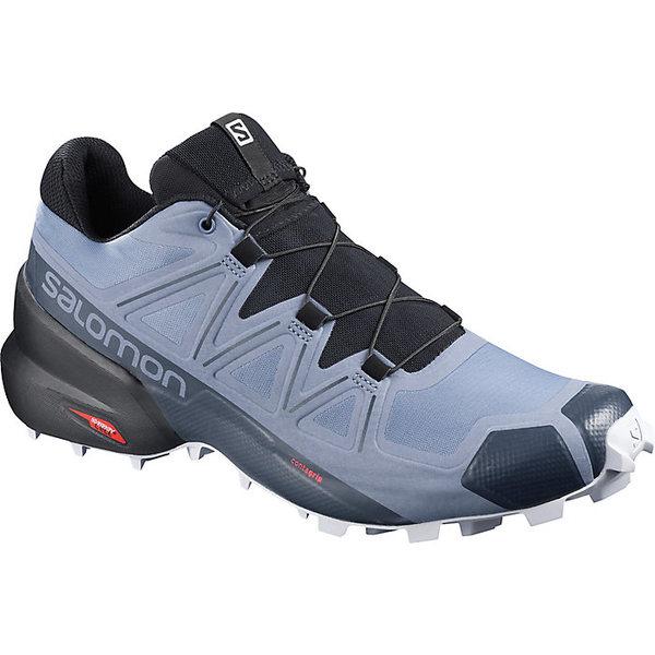 サロモン メンズ ランニング スポーツ Salomon Men's Speedcross 5 Shoe Flint Stone / Black / India Ink