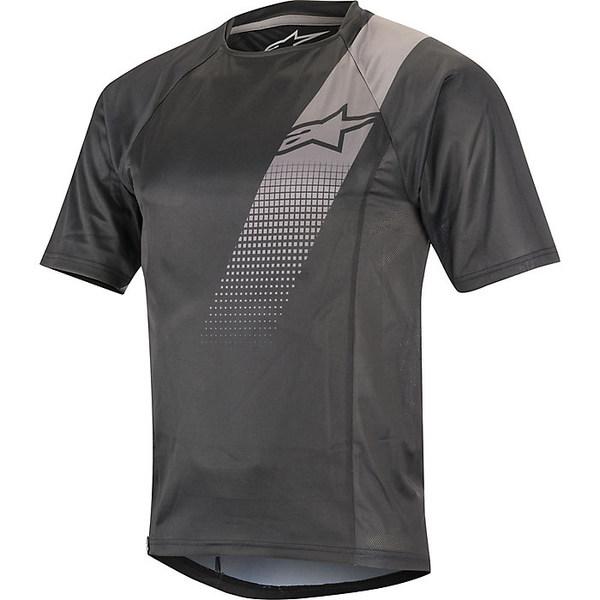 アルパインスターズ メンズ サイクリング スポーツ Alpine Stars Men's Trailstar V2 SS Jersey Black / Gray