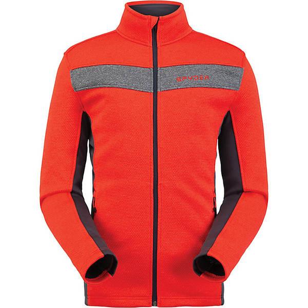スパイダー メンズ ジャケット&ブルゾン アウター Spyder Men's Encore Full Zip Fleece Jacket Volcano