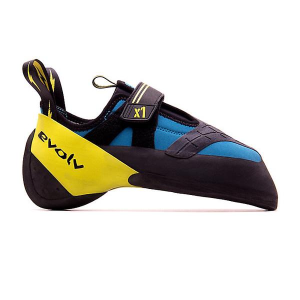 エボルブ メンズ ハイキング スポーツ Evolv Men's X1 Climbing Shoe Seafoam / Neon Yellow