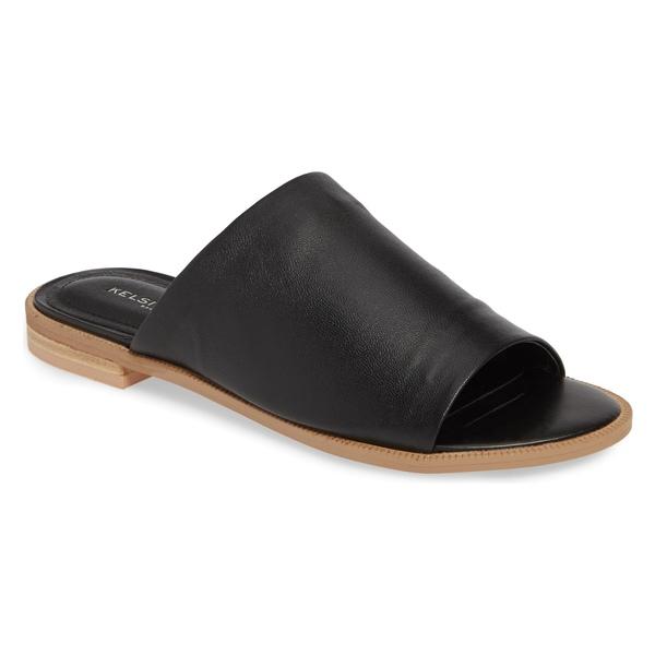 ケルシーダッガー レディース サンダル シューズ Kelsi Dagger Brooklyn Ruthie Slide Sandal (Women) Black Leather