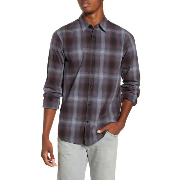 ハーレー メンズ シャツ トップス Hurley Grady Plaid Button-Up Shirt Black
