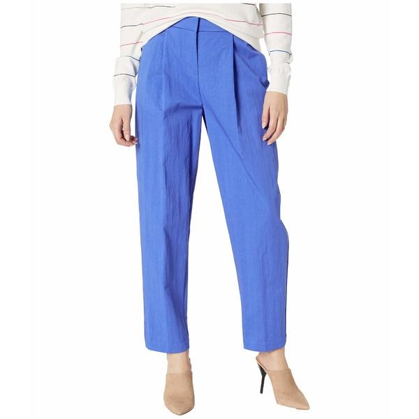レディース Pleat Pants Blue ボトムス カジュアルパンツ Egyptian Tappered Front ジェイソンウー