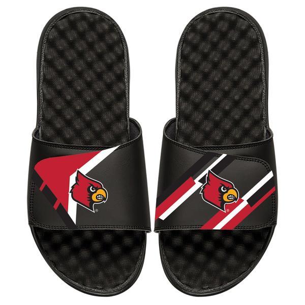 アイスライド メンズ サンダル シューズ Louisville Cardinals ISlide Varsity Starter Jacket Slide Sandals Black