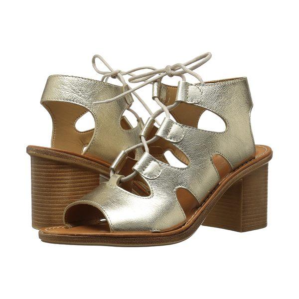 ベラビタ レディース ヒール シューズ Bre-Italy Gold Leather