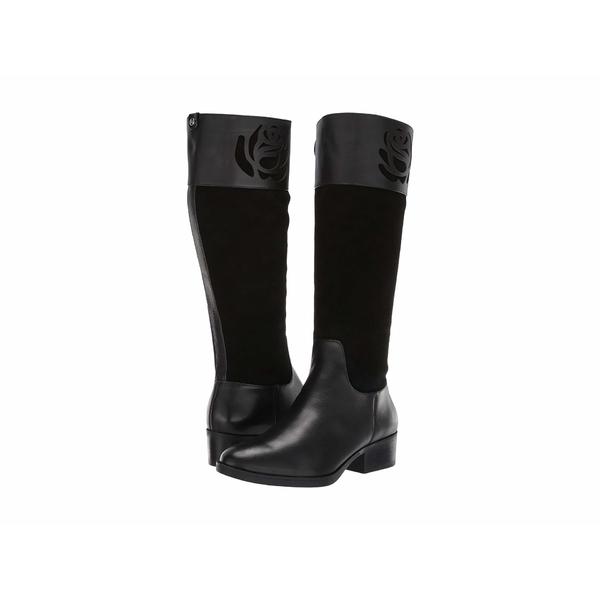 タリンローズ レディース ブーツ&レインブーツ シューズ Georgia Weatherproof Black Smooth Leather