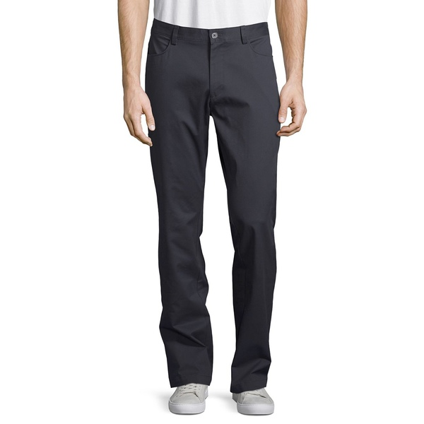 カルバンクライン メンズ カジュアルパンツ ボトムス Slim-Fit 4-Pocket Stretch Sateen Pants Arc