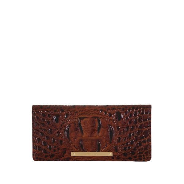 ブランミン レディース ハンドバッグ バッグ Melbourne Ady Leather Wallet Pecan