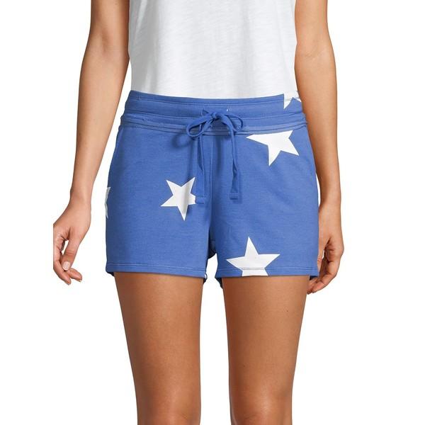 マークニューヨーク レディース カジュアルパンツ ボトムス Star Printed Shorts Blue Star