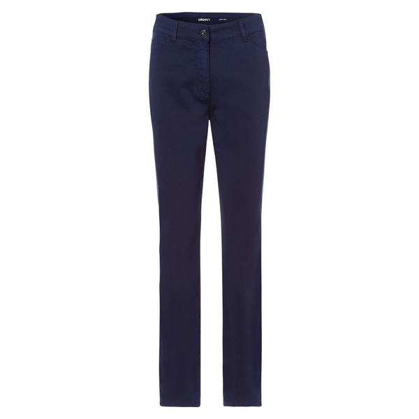 オルセン レディース デニムパンツ ボトムス Utility Chic Stretch Logo Jeans Navy