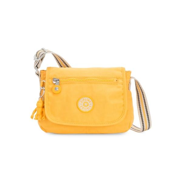 キプリング レディース ショルダーバッグ バッグ Sabian Crossbody Mini Bag Vivid Yellow