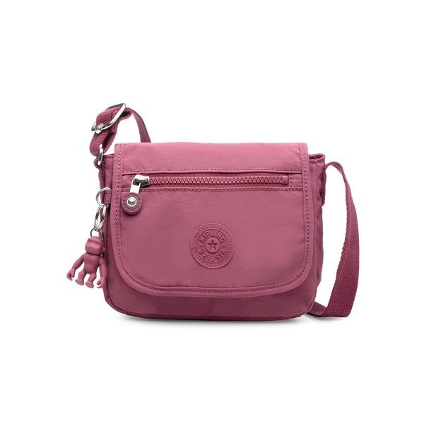 キプリング レディース ショルダーバッグ バッグ Sabian Crossbody Mini Bag Fig Purple