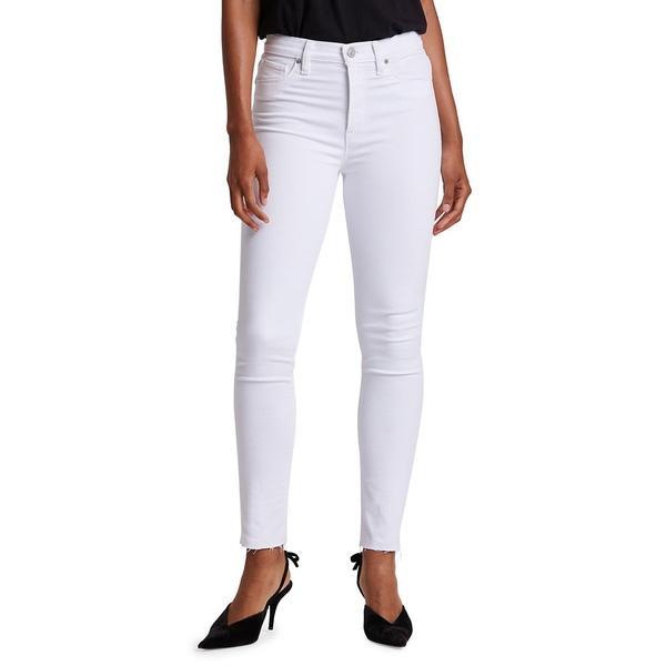 ハドソンジーンズ レディース デニムパンツ ボトムス Barbara High Rise Skinny Jeans White