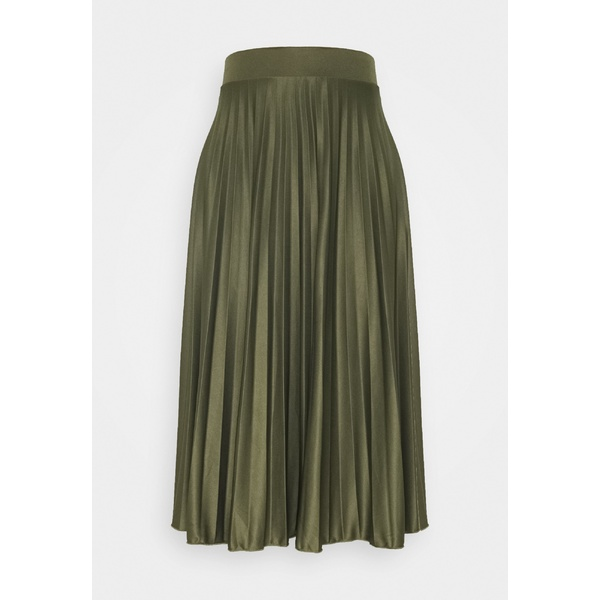 ドロシー パーキンス レディース ボトムス スカート khaki いよいよ人気ブランド 全商品無料サイズ交換 - SKIRT PLEAT A-line skirt 人気急上昇 ftbz028e