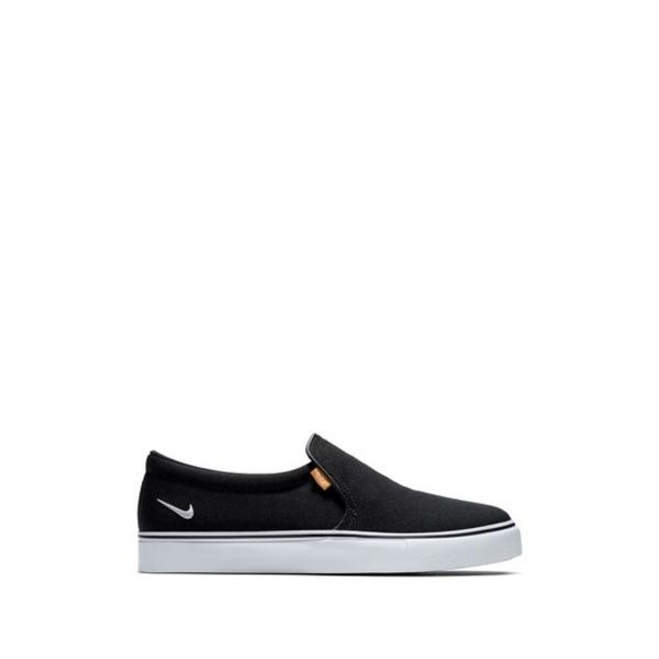 ナイキ レディース シューズ スニーカー 即日出荷 001 BLACK WHITE AC 10%OFF 全商品無料サイズ交換 Court Royale Sneaker Slip-On