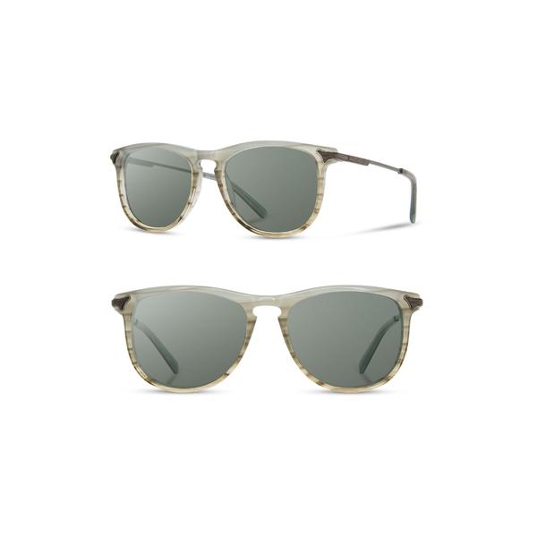 シュウッド メンズ サングラス・アイウェア アクセサリー Shwood Keller 53mm Sunglasses Boardwalk
