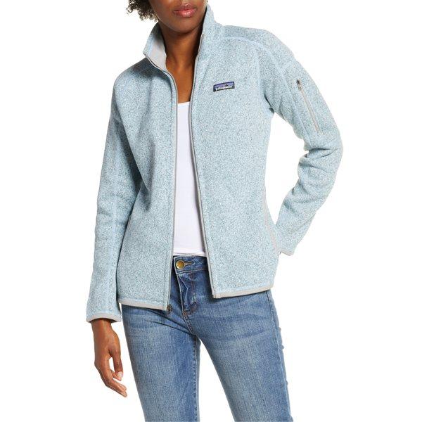 パタゴニア レディース ジャケット&ブルゾン アウター Patagonia Better Sweater Jacket Hawthorne Blue