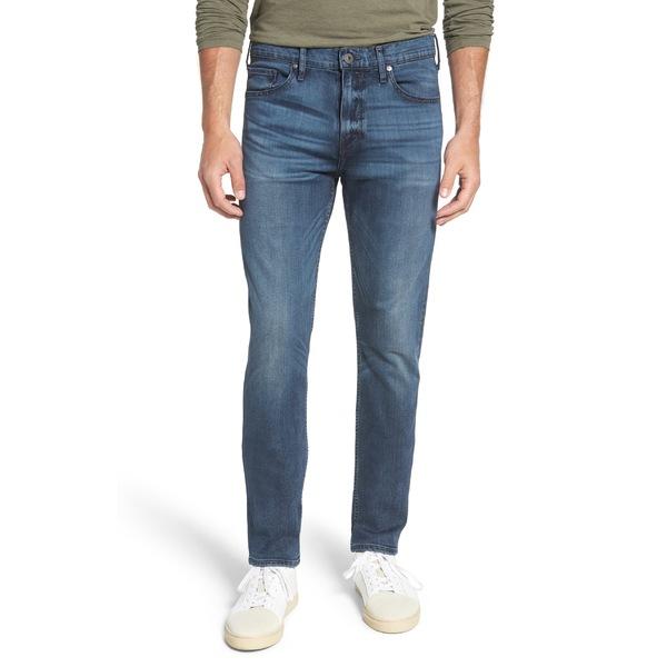 ペイジ メンズ カジュアルパンツ ボトムス PAIGE Transcend - Lennos Straight Leg Jeans (Grammercy) Grammercy