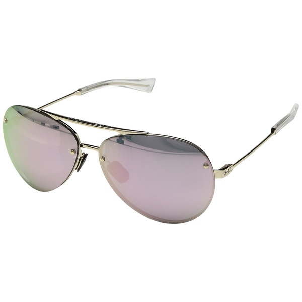 アンダーアーマー メンズ サングラス・アイウェア アクセサリー Double Down Gloss Rose Gold/Clear/Pink Mirror 18