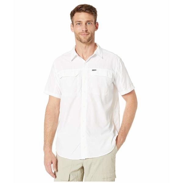 コロンビア メンズ シャツ トップス Silver Ridge 2.0 Short Sleeve Shirt White