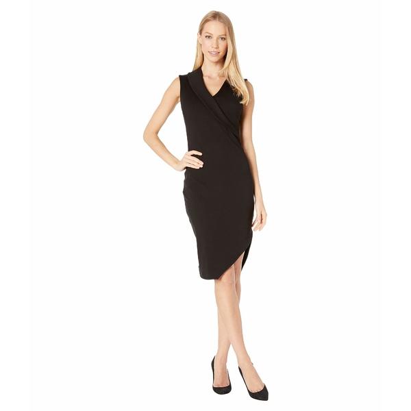 スサナモナコ レディース ワンピース トップス Angled Hem Collar Dress Black