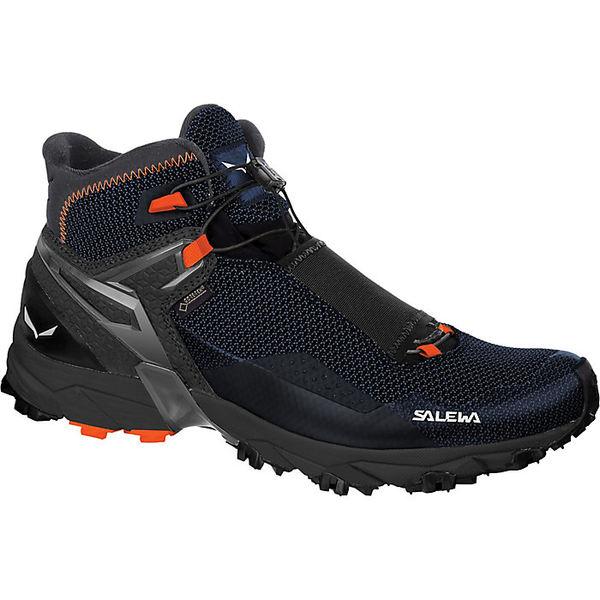 サレワ メンズ ハイキング スポーツ Salewa Men's Ultra Flex GTX Mid Boot Black / Holland