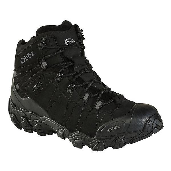 オボズ メンズ ハイキング スポーツ Oboz Men's Bridger Mid BDry Boot Midnight Black