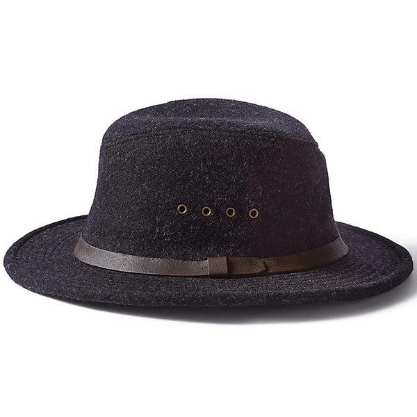 フィルソン メンズ 帽子 アクセサリー Filson Wool Packer Hat Charcoal