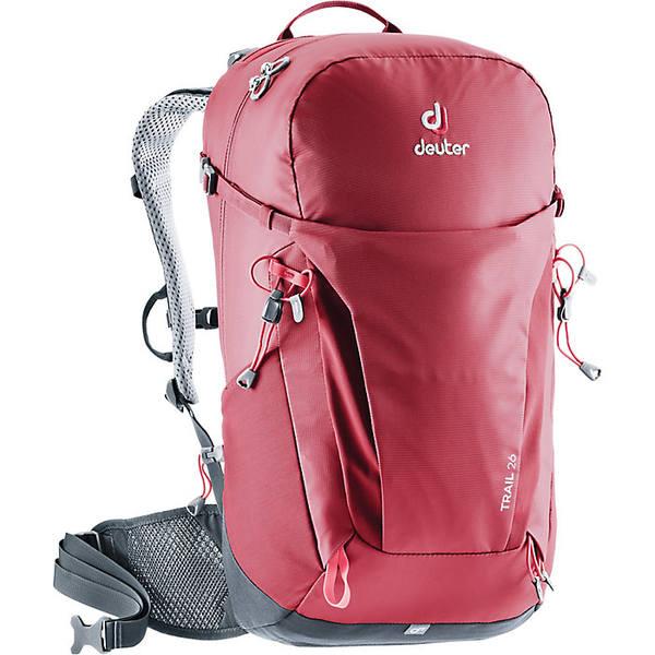 ドイター メンズ バックパック・リュックサック バッグ Deuter Trail 26 Pack Cranberry / Graphite