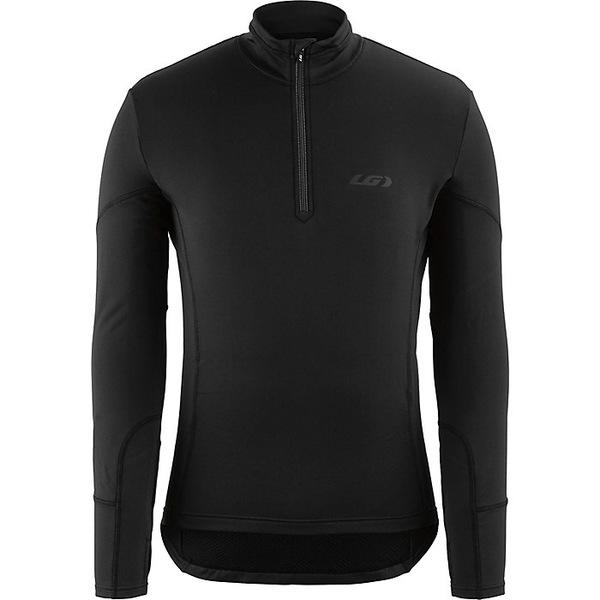 イルスガーナー メンズ サイクリング スポーツ Louis Garneau Men's Edge 2 LS Jersey Black