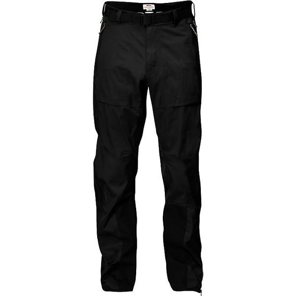 フェールラーベン メンズ ハイキング スポーツ Fjallraven Men's Keb Eco Shell Trouser Black