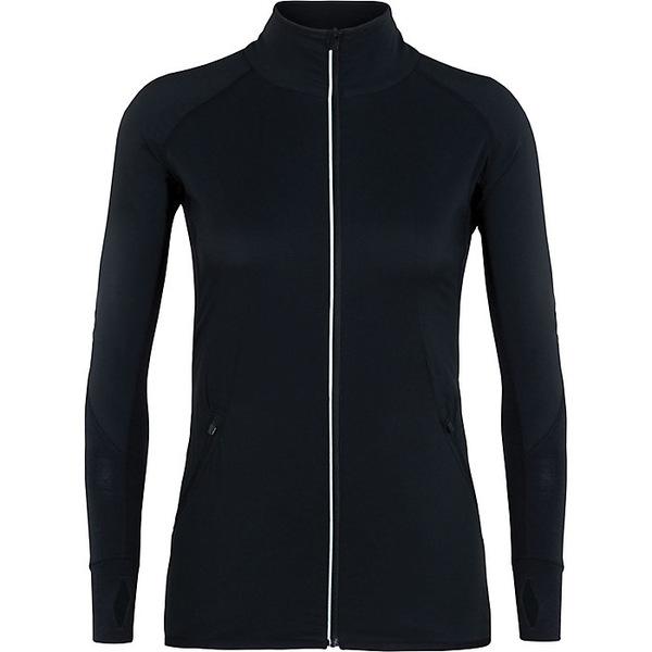 アイスブレーカー レディース ジャケット&ブルゾン アウター Icebreaker Women's Tech Trainer Hybrid Jacket Black