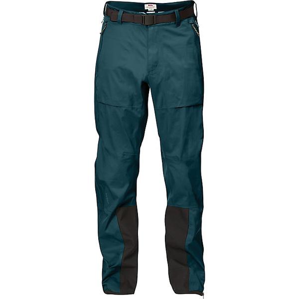 フェールラーベン メンズ ハイキング スポーツ Fjallraven Men's Keb Eco Shell Trouser Glacier Green