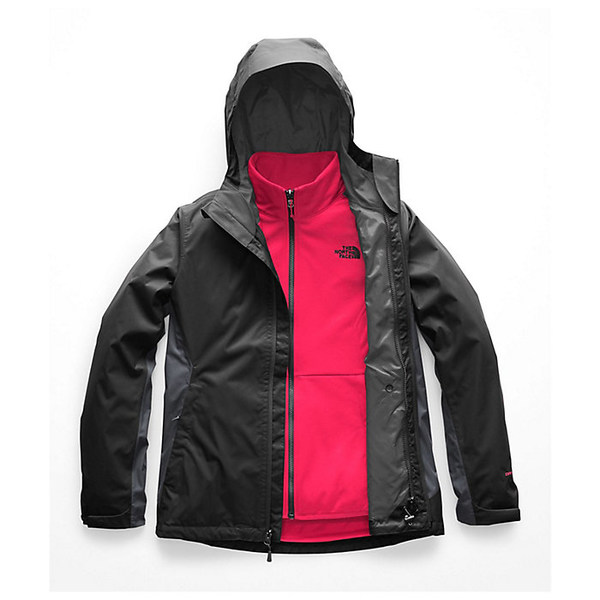 ノースフェイス レディース ジャケット&ブルゾン アウター The North Face Women's Arrowood Triclimate Jacket Asphalt Grey / Vanadis Grey