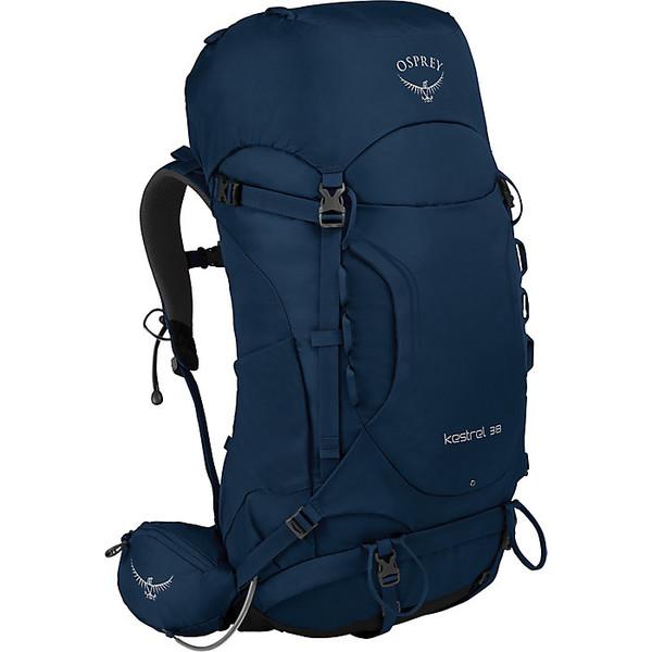 オスプレー メンズ バックパック・リュックサック バッグ Osprey Kestrel 38 Backpack Loch Blue