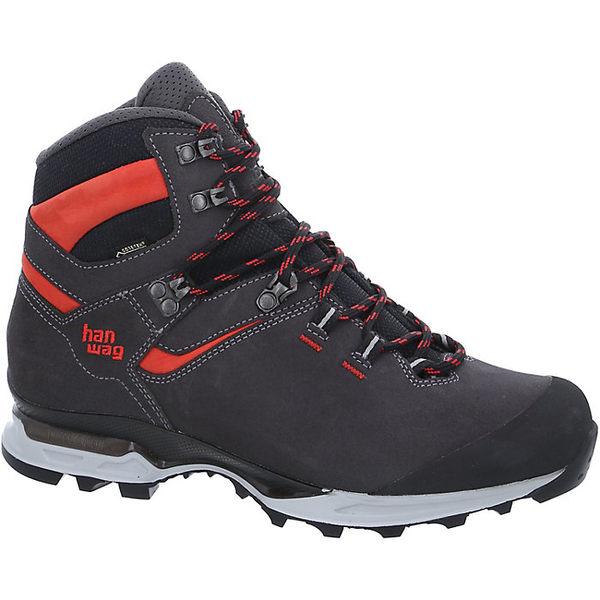 ハンワグ メンズ ハイキング スポーツ Hanwag Men's Tatra Light GTX Boot Asphalt / Red