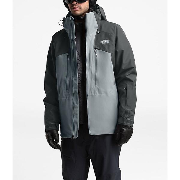 ノースフェイス メンズ ジャケット&ブルゾン アウター The North Face Men's Powderflo Jacket Mid Grey / Asphalt Grey