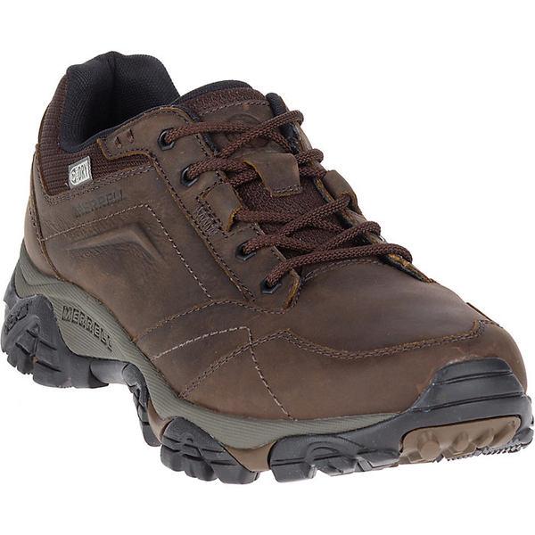 メレル メンズ ハイキング スポーツ Merrell Men's Moab Adventure Lace Waterproof Shoe Dark Earth
