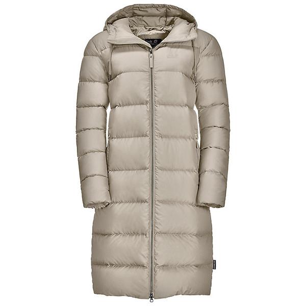 ジャックウルフスキン レディース ジャケット&ブルゾン アウター Jack Wolfskin Women's Crystal Palace Coat Dusty Grey