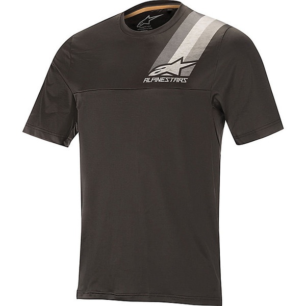 アルパインスターズ メンズ サイクリング スポーツ Alpine Stars Men's Alps 4.0 SS Jersey Melange Dark Gray / Black