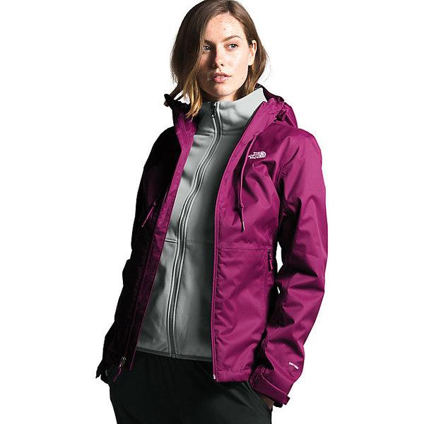 ノースフェイス レディース ジャケット&ブルゾン アウター The North Face Women's Arrowood Triclimate Jacket Wild Aster Purple / Tin Grey