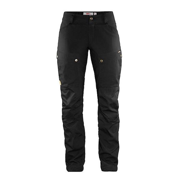 フェールラーベン レディース ハイキング スポーツ Fjallraven Women's Keb Curved Trouser Black