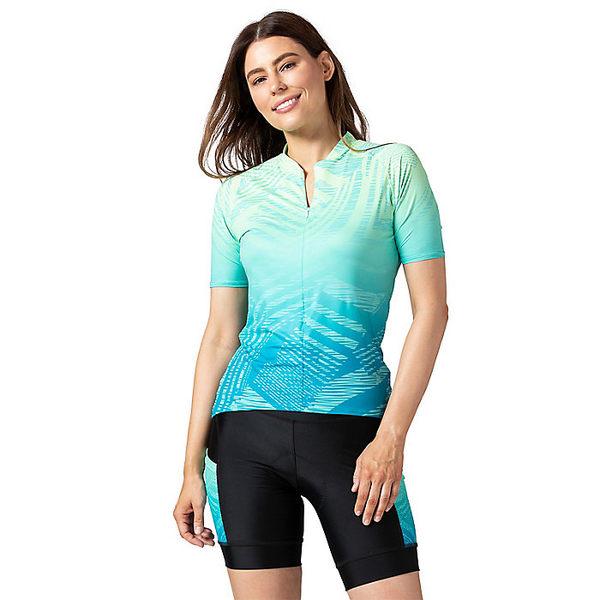 テリー レディース サイクリング スポーツ Terry Women's Soleil SS Jersey Wavelength/Blue