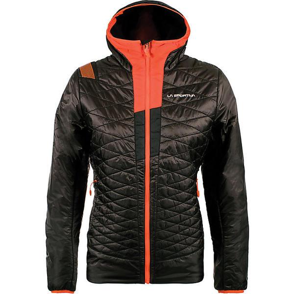 ラスポルティバ レディース ジャケット&ブルゾン アウター La Sportiva Women's Elysium Primaloft Jacket Black / Pumpkin