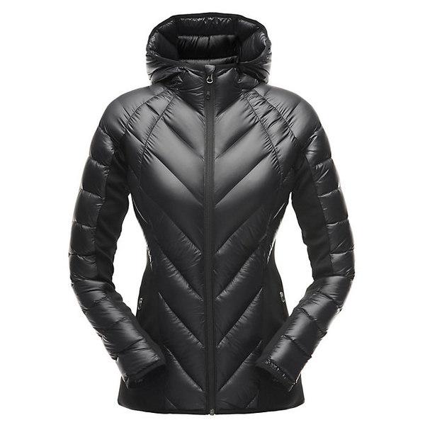 スパイダー レディース ジャケット&ブルゾン アウター Spyder Women's Syrround Hybrid Hoody Jacket Black / Black / Black