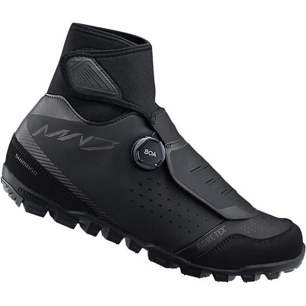シマノ メンズ サイクリング スポーツ Shimano Men's MW7 Bike Shoe Black