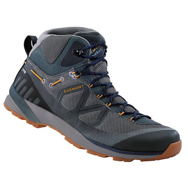ガーモント メンズ ハイキング スポーツ Garmont Men's Karakum Mid GTX Shoe Blue / Grey