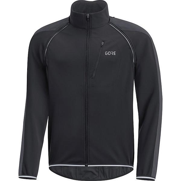 ゴアウェア メンズ ジャケット&ブルゾン アウター Gore Wear Men's Gore C3 Gore Windstopper Phantom Zip Off Jacket Black / Terra Grey